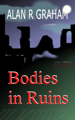 Enlarged image, cover of book, Bodies In Ruins.